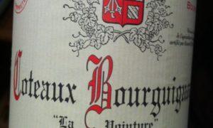 Coteaux Bourguignons Rouge La Pointure
